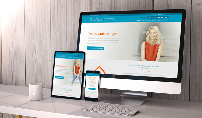 responsive web design by Affordable Image
