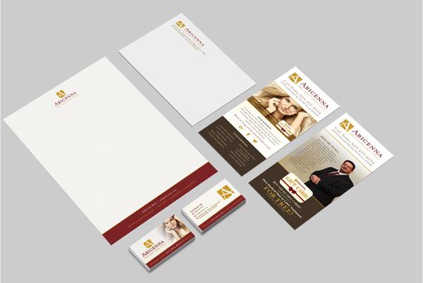 Abicenna Branding Materials