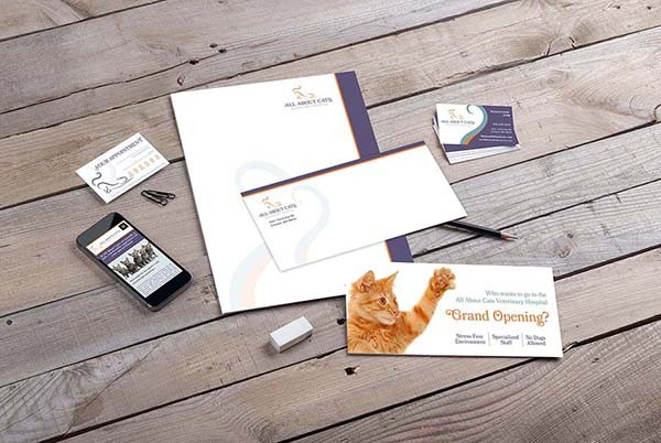 All About Cats Branding Identity
