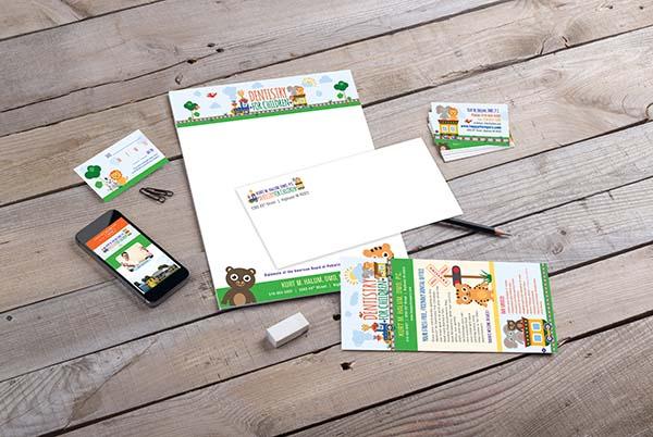 Dentistry for Children Branding Materials