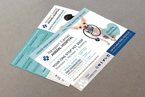 Newport Center Animal Hospital Direct Mailing