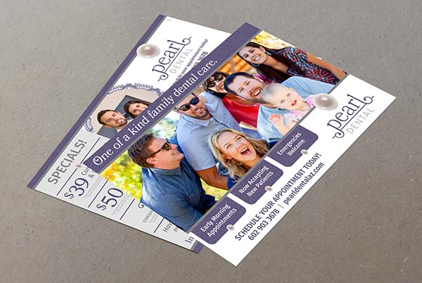 Pearl Dental Direct Mailing