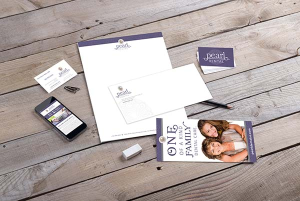 Pearl Dental Branding Materials