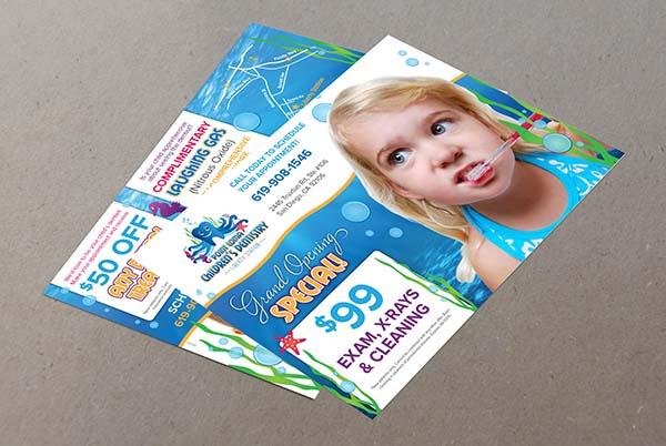 Children's Dentistry direct mailing