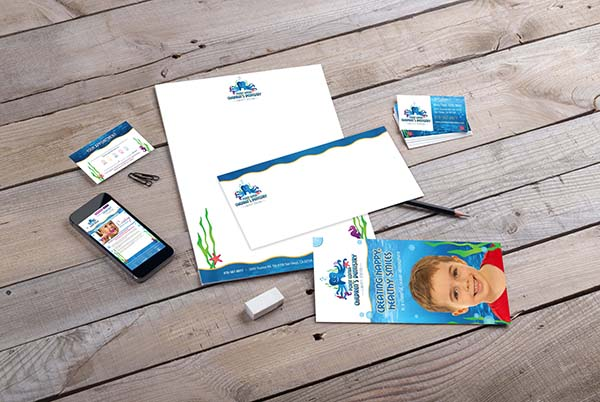 Children's Dentistry Branding Materials