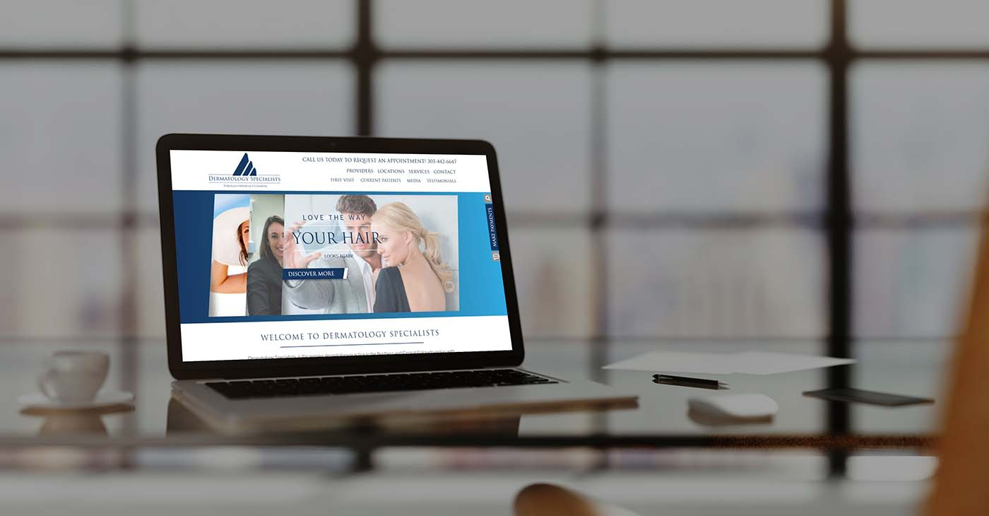 Derm Specialists Custom Web design