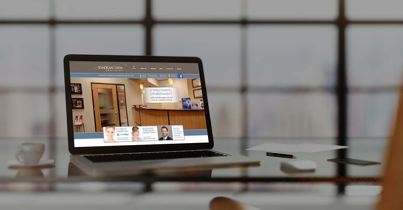 Sonoran vista custom website designed by Affordable Image
