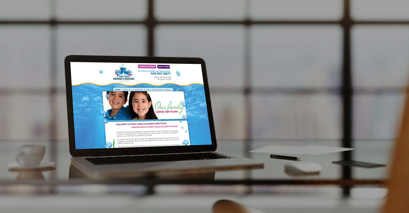 Point Loma Graphic Website