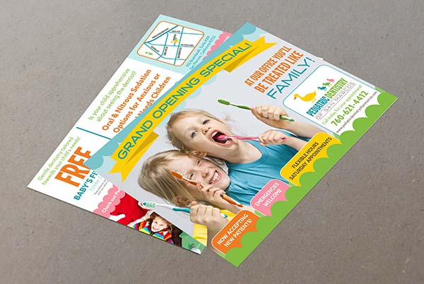 Pediatric Dentistry Direct Mailing