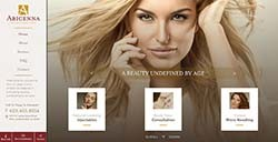 Abicenna Web Design by Affordable Image