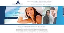 Dermatology Specialists Website Design