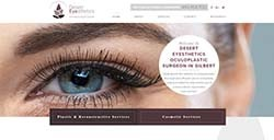 Desert Eyesthetics Web Design