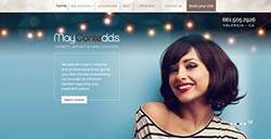 May Conte DDS web development by Affordable Image