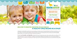 Pediatric Dentistry of San Marcos Custom Web site