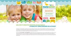 Pediatric Dentistry of San Marcos Custom Web site