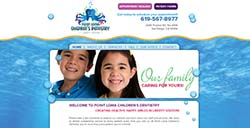 Point Loma Custom website
