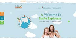 Smile Explorers Custom Website by Affordable Image