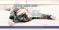 All About Cats Web Design by Affordable Image
