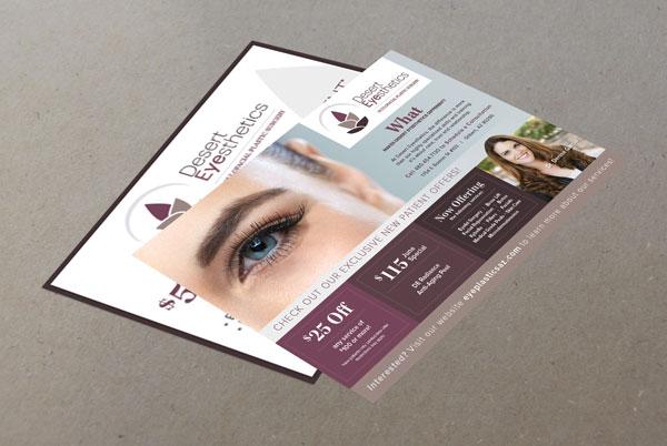 Desert Eyesthetics Marketing Flyers