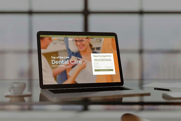 Custom Website for Fox Valley