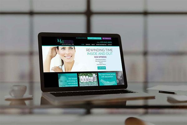 Mitchell Medical Custom Web Development