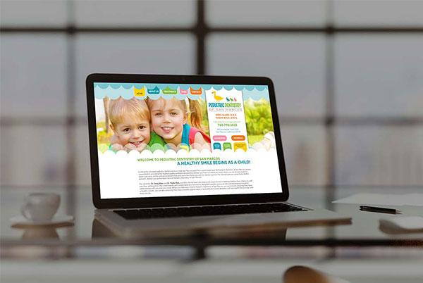 Pediatric Dentistry custom web development