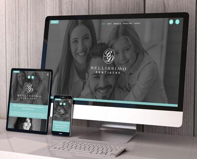 Bellissimo Dentistry Website