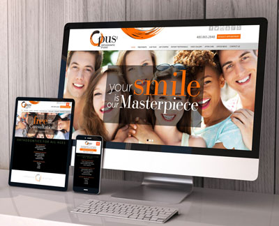 Opus 1 Orthodontics Website