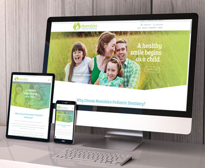 Montshire Pediatric Dentistry Website