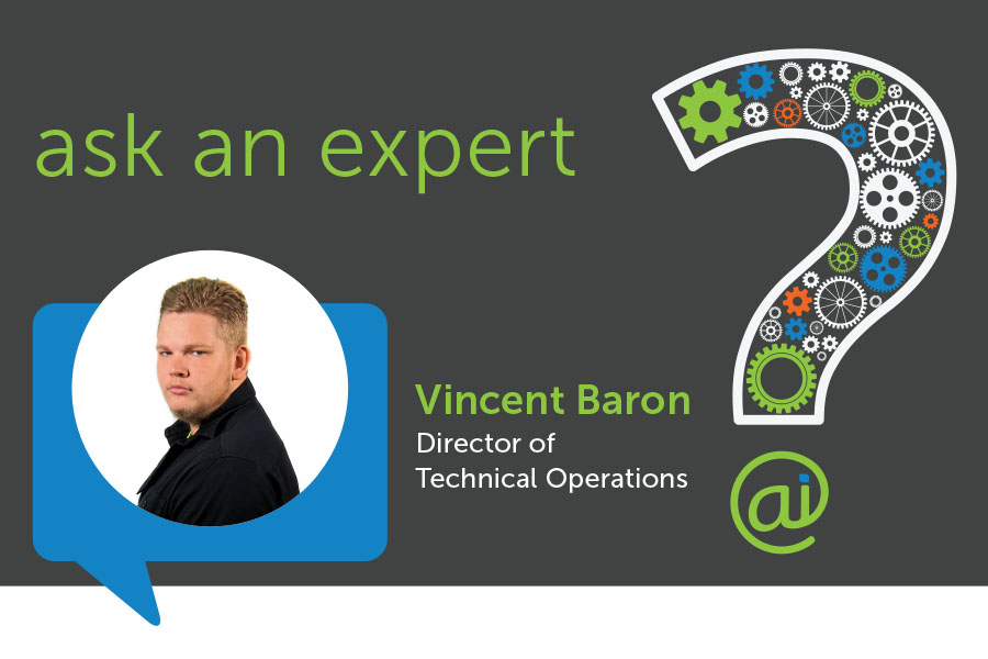 Vincent Baron Director of Technical Operations