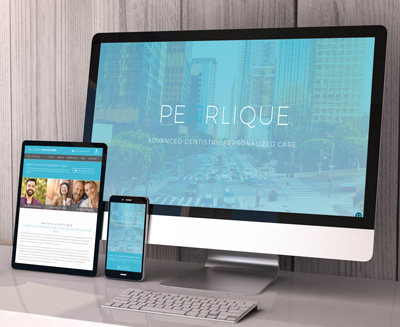 Pearlique Dental Website
