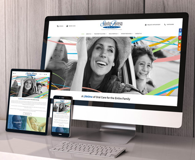 Santa Teresa Dental Website