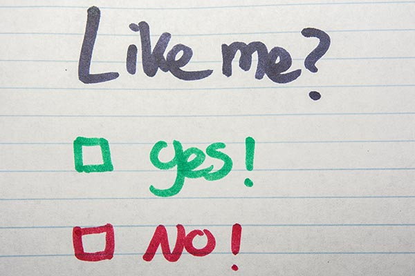 Like me - yes or no