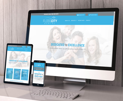 Floss City Dental Website