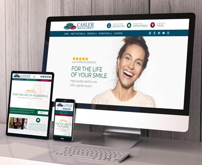 Casler Dental Group Website