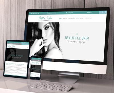 Aesthetics~Wellness Website