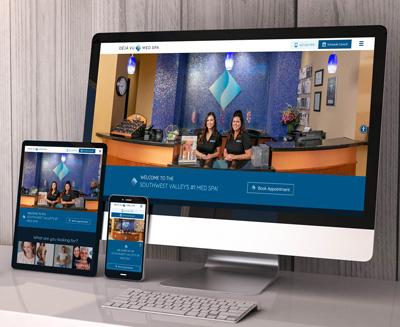 Deja Vu Med Spa Website